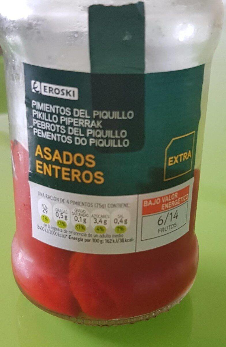 Pimientos del piquillo asados enteros - Produit - es