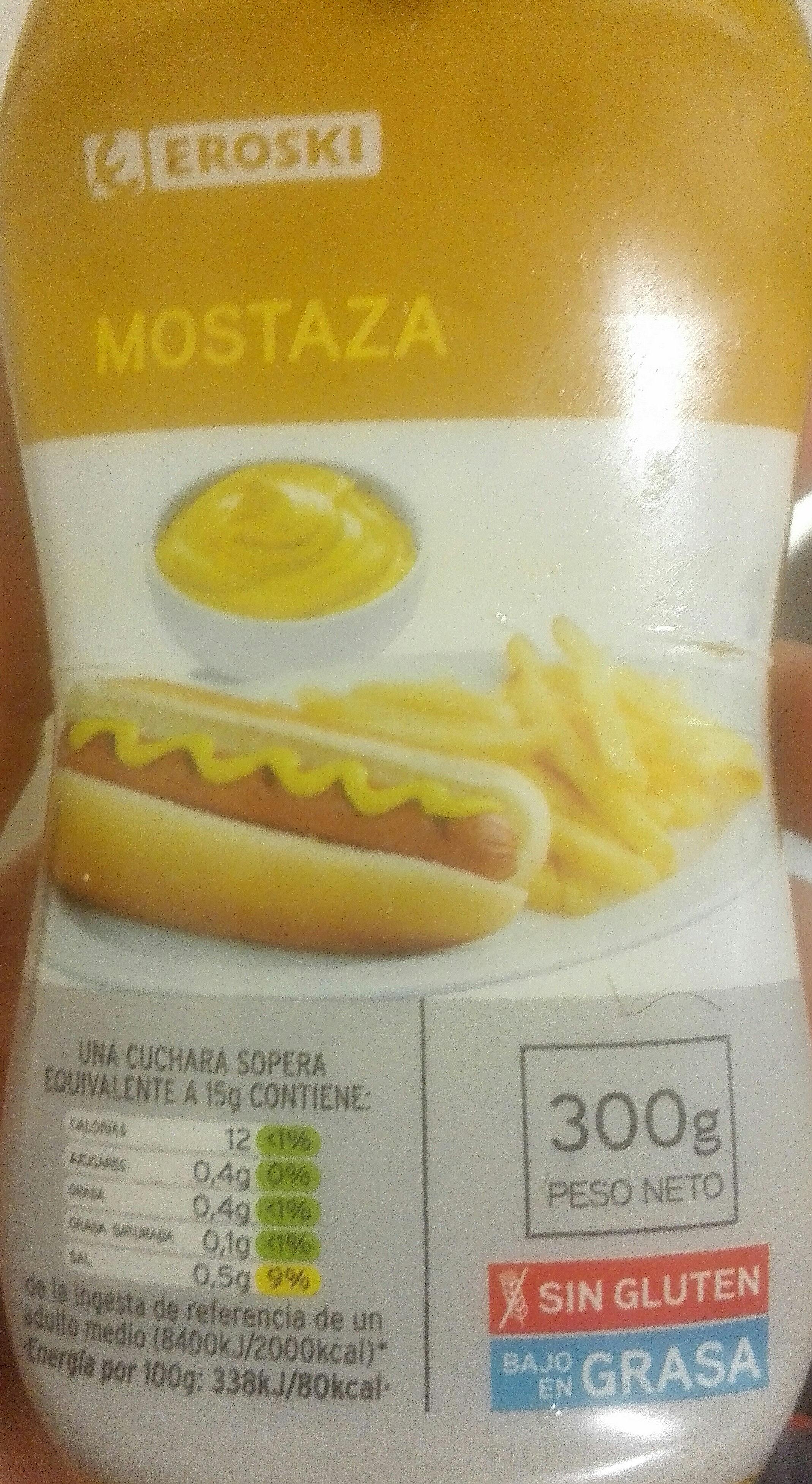 Mostaza - Producto