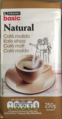 Cafe molido natural