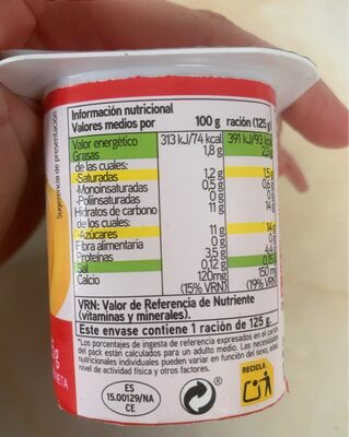 Yogur sabor plátano - 2