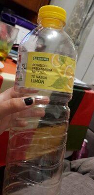 Refresco de té sabor limón