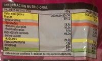 Croissant relleno de crema de cacao y avellanas - Voedigswaarden
