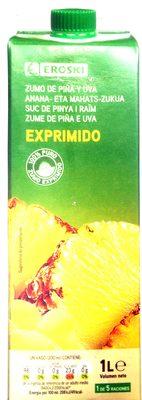 zumo de piña y uva - Product