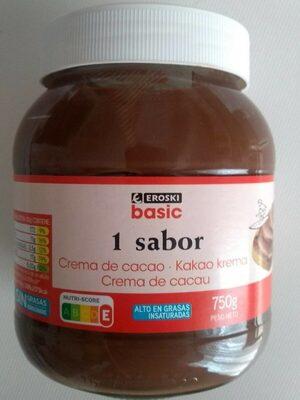 Crema de cacao 1 sabor - Producte - es