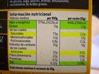 Barritas de cereales: plátano y chocolate con leche - Informació nutricional - es