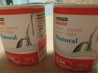 Yogur natural - Producte