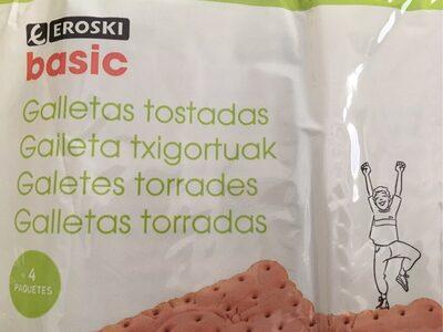Galletas tostadas - Producto - es