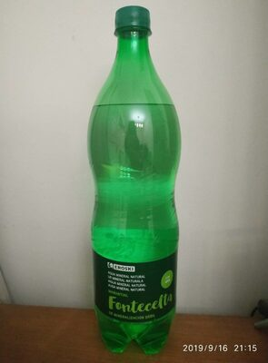 Fontecelta - Agua mineral natural con gas
