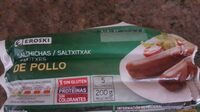 Salchichas de pollo - Producto - es