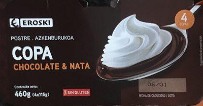 Copa chocolate y nata - Producto