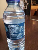 Agua mineral natural Fontecelta - Ingredientes