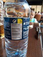 Agua mineral natural Fontecelta - Información nutricional