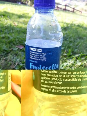 Fontecelta - Agua mineral natural