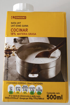 Nata para cocinar - Product