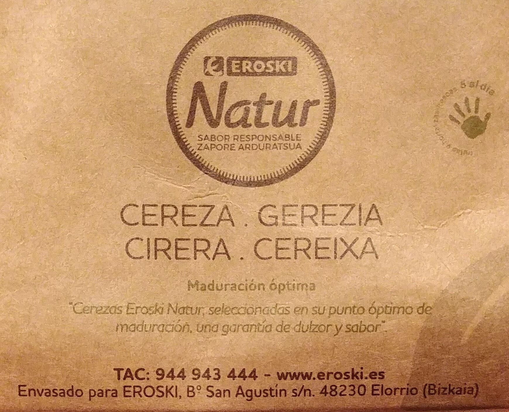 Cereza - Ingredientes - es