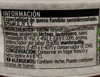 Queso light - Ingredients