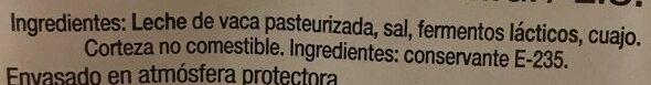 Queso Maasdam - Ingredients - es