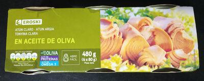 Atun claro en aceite de oliva - Producto - es