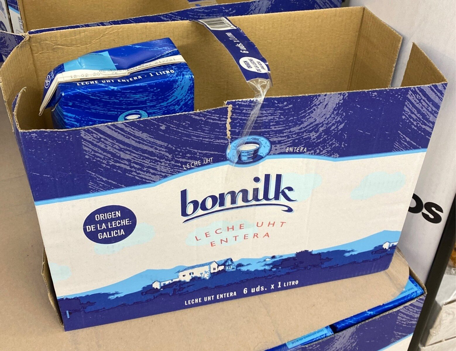 Bomilk entera - Product