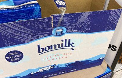 Bomilk entera - Información nutricional - es