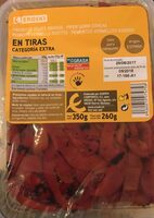 Pimientos rojos asados en tiras - Produit - es
