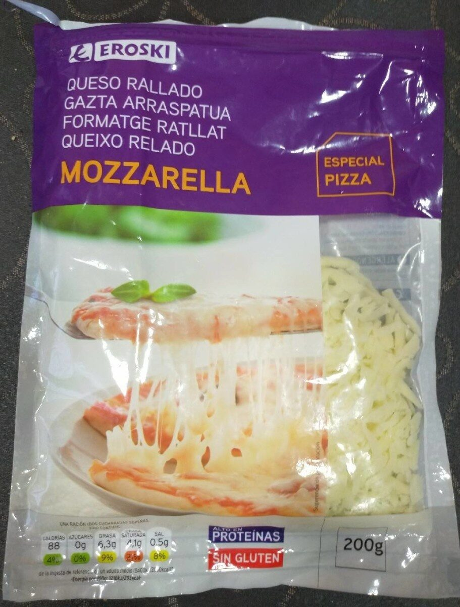 Queso rallado Mozzarella - Product