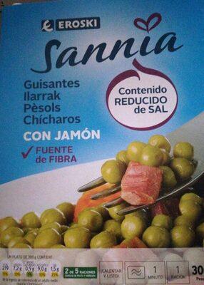 Guisantes con jamón, Sannia - Product
