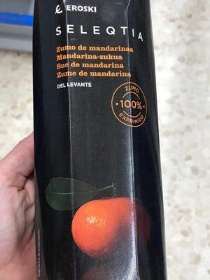 Seleqtia - Zumo de mandarina - Product - es
