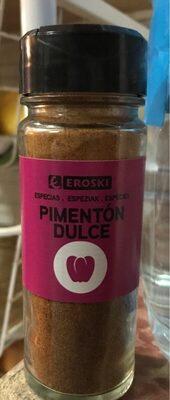 Pimentón dulce - Producte - es