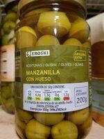 Aceituna manzanilla con hueso - Product - es