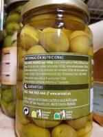 Aceituna manzanilla con hueso - Nutrition facts - es