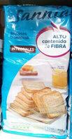 Sannia - Biscotes integrales - Producto