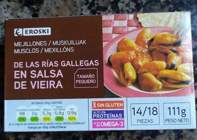 Mejillones en salsa de vieira - Produit - es