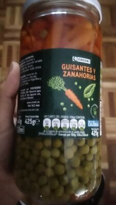 Guisantes y zanahorias - Product - es