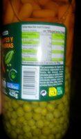 Guisantes y zanahorias - Nutrition facts - es