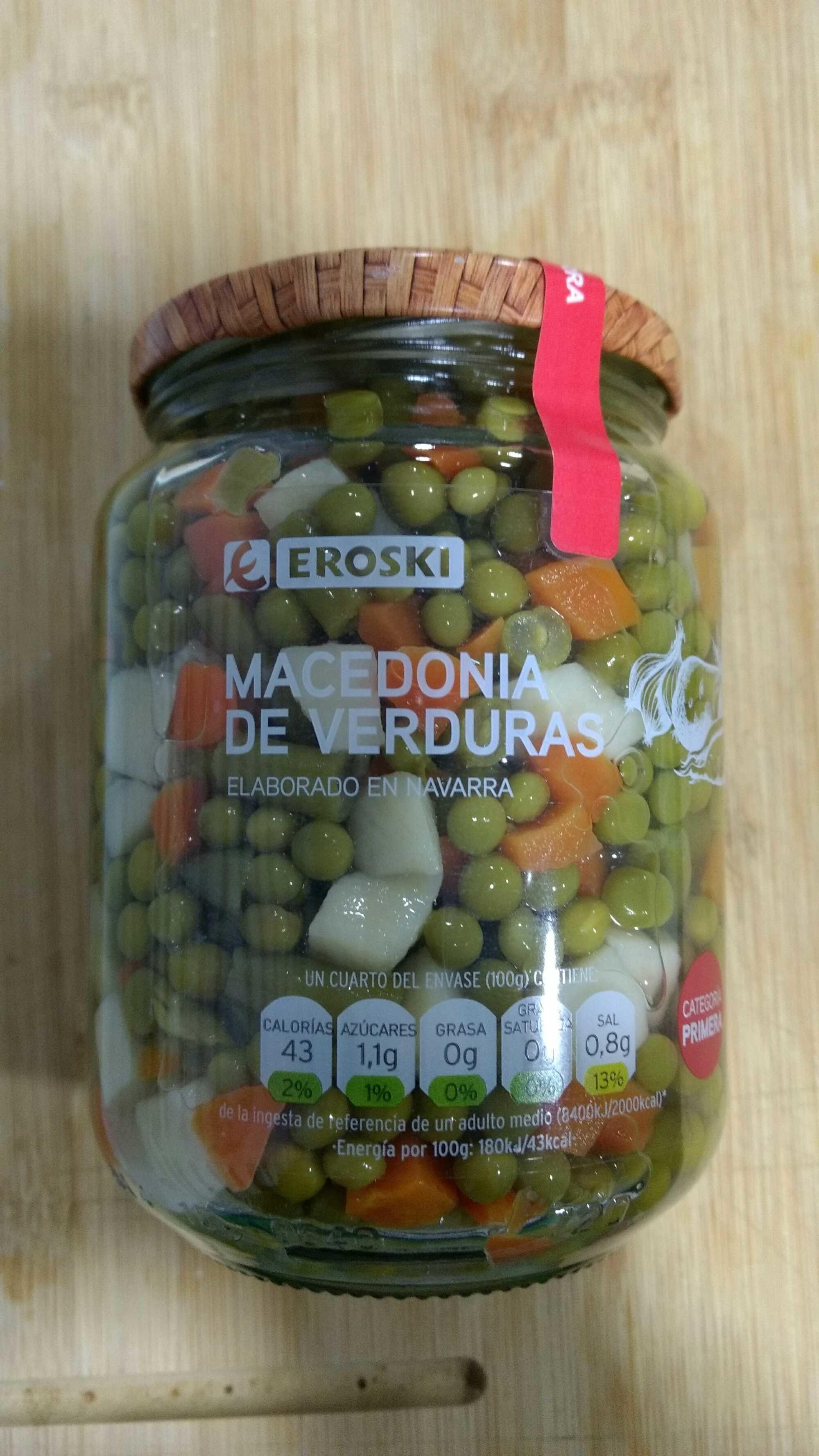 Macedonia de verduras - Product