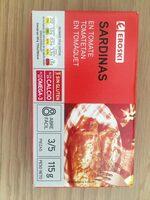 Sardinas en tomate - Product