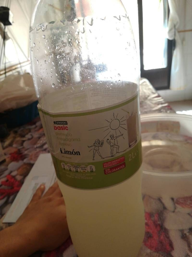Refresco Limón Eroski - Producto - es