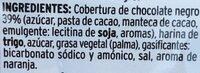 Rosquillas chocolate negro - Ingredientes