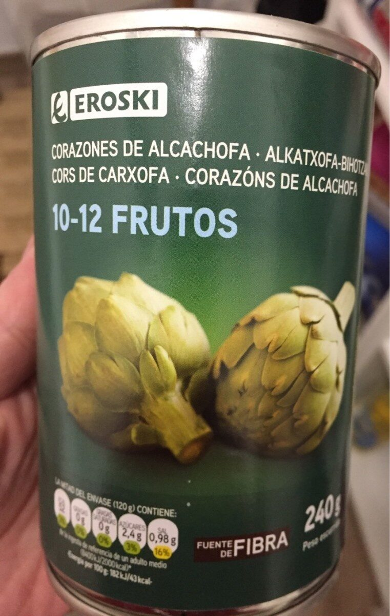 Corazones de alcachofa - Product - es