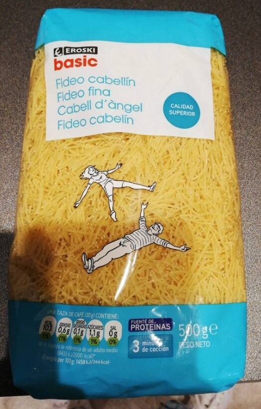 Fideo cabellín - Product