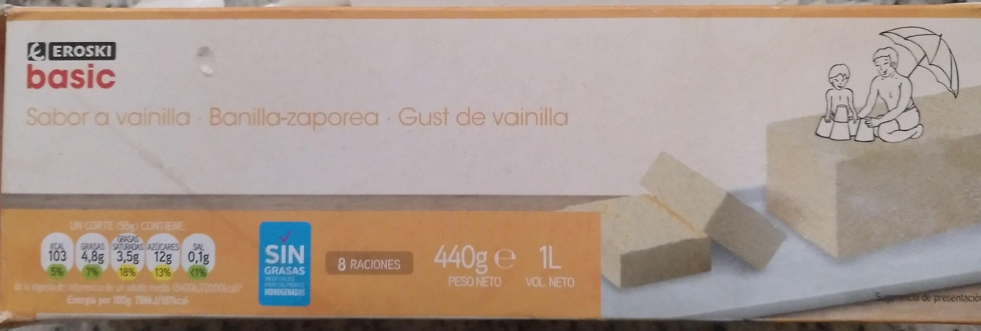Helado sabor vainilla - Producto