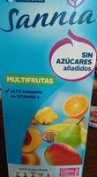 Sannia - Zumo multifrutas sin azúcares - Produit