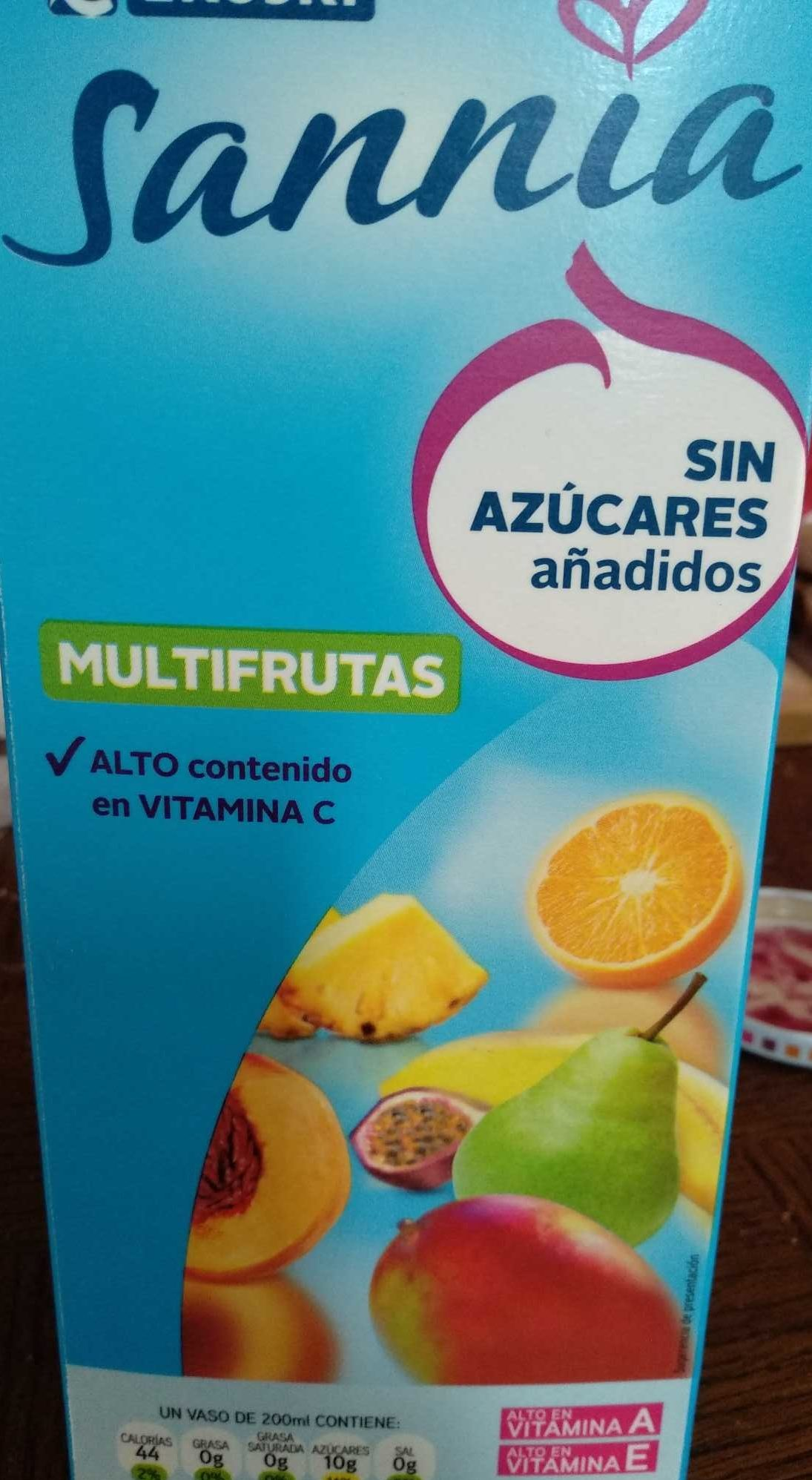 Zumo Multifrutas Sannia - Product