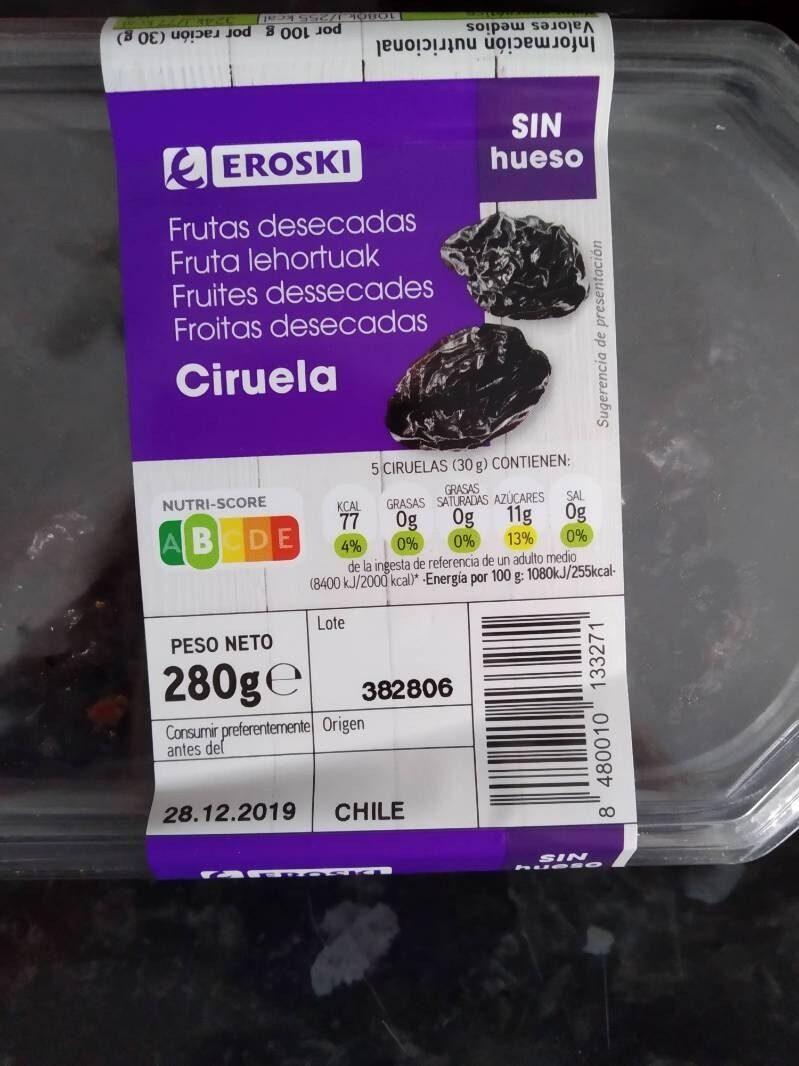 Frutas desecadas Ciruela - Producto - es