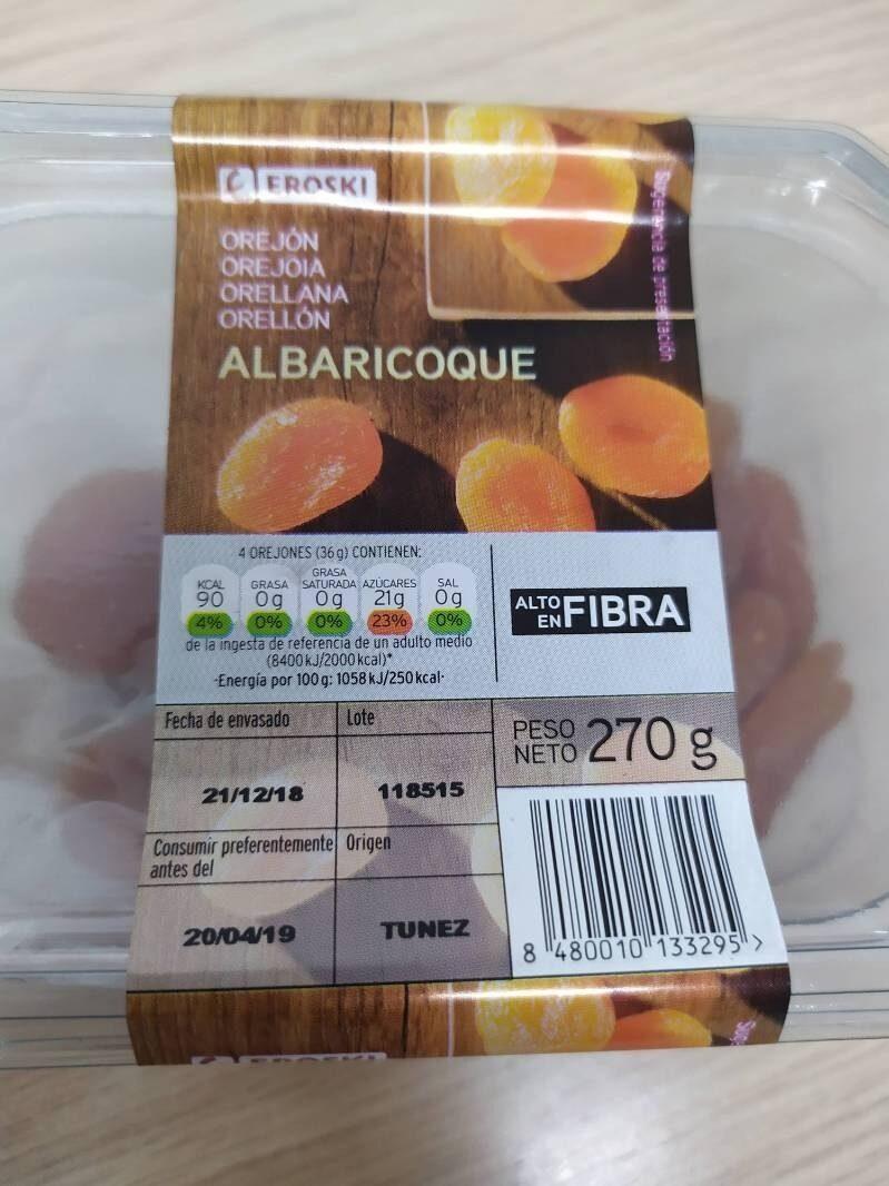 Orejón de albaricoque - Produit - es