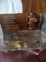 Anacardo Frito Salado - Ingredients