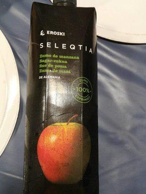 Zumo de manzana - Producto