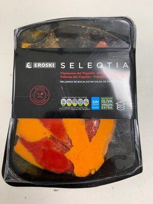 Seleqtia - Pimientos rellenos de bacalao