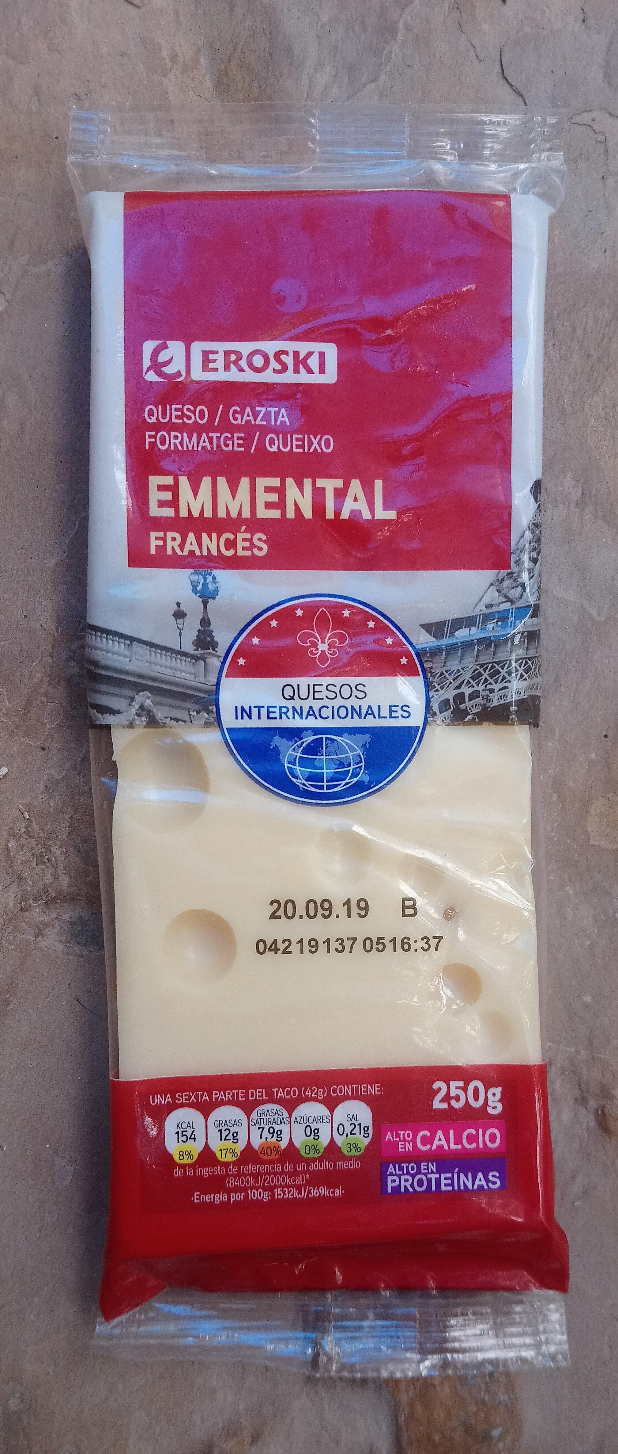Queso emmental francés - Producto - es